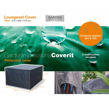 Garden Impressions Loungesethoes Coverit 210x200x70 cm 70824[2/3]
