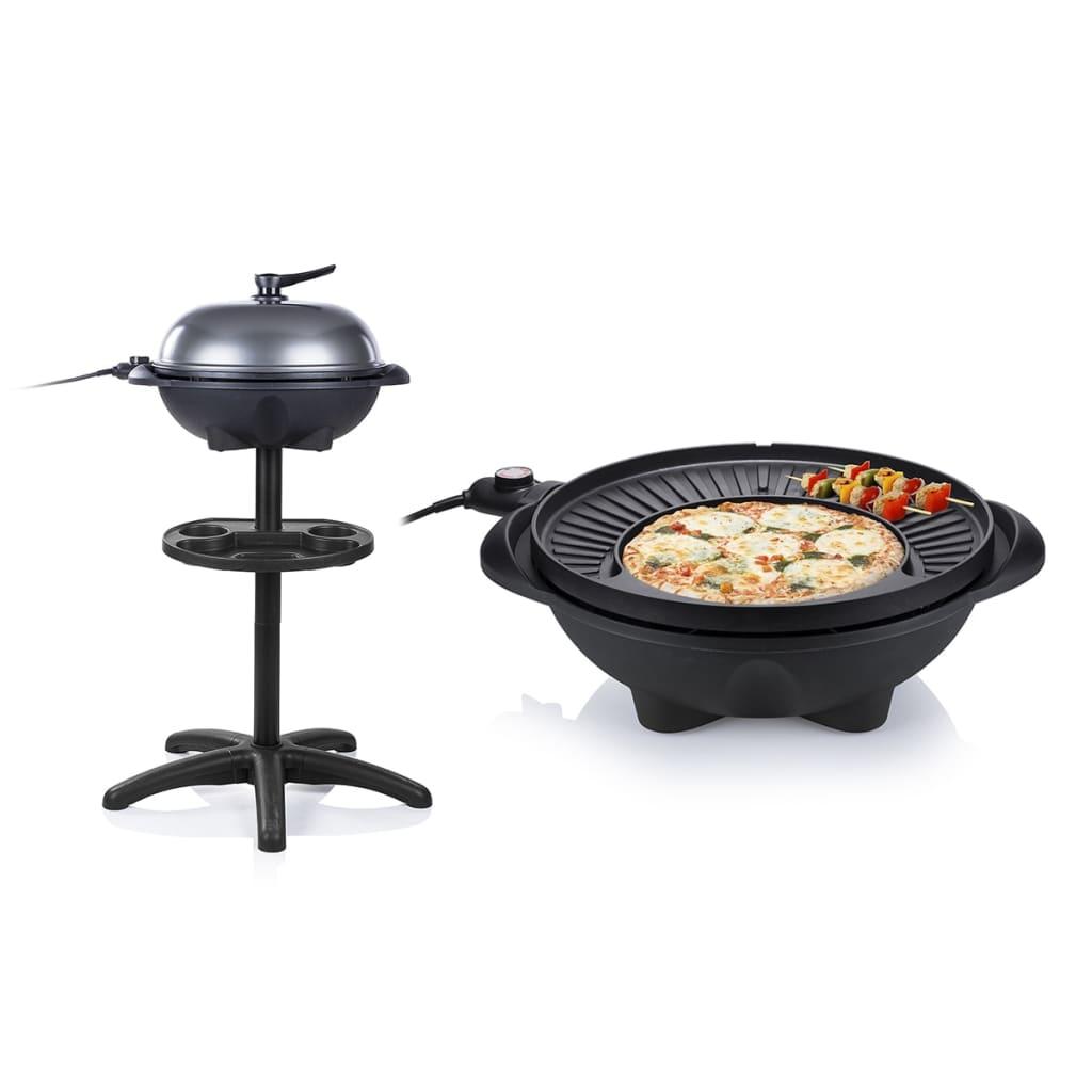 Tristar Elektrische tafelbarbecue met standaard BQ-2823 1.600 W zwart