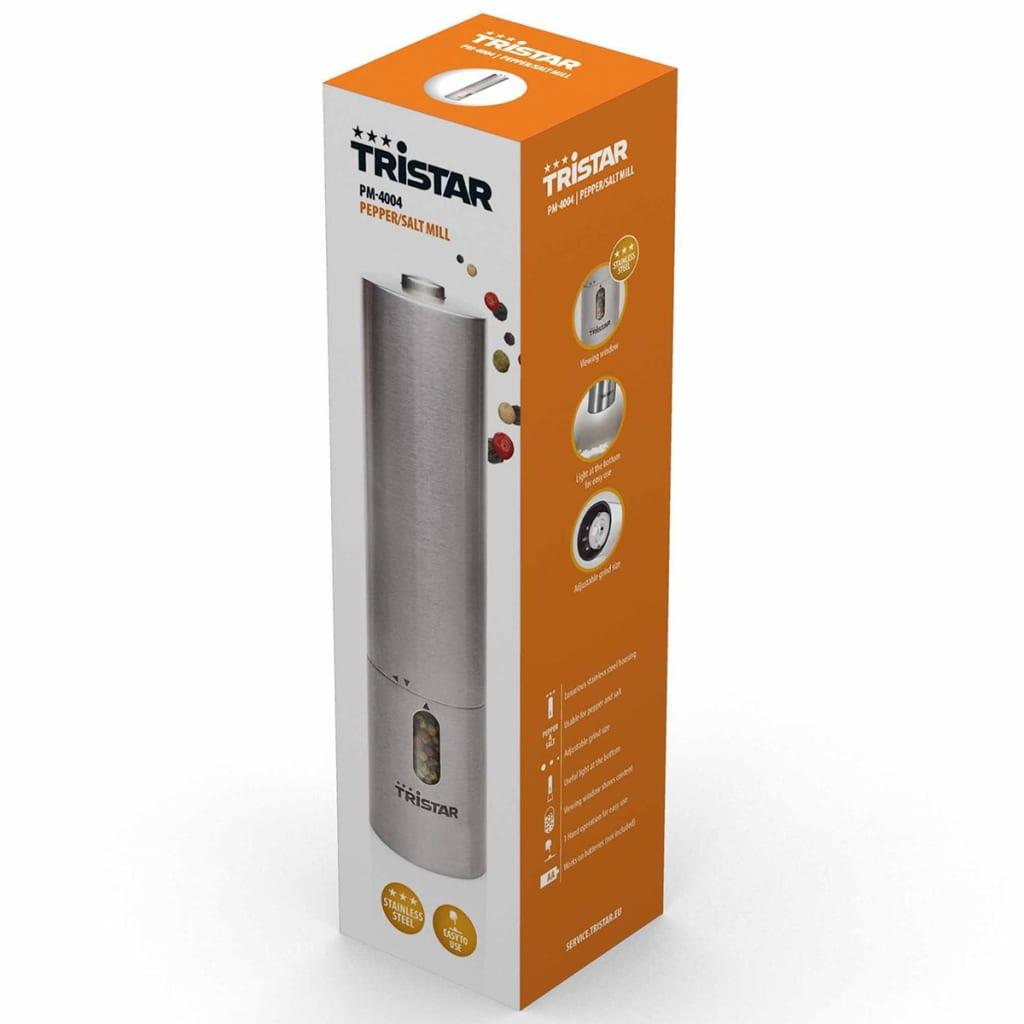 Tristar Peper-/zoutmolen PM-4004 zilver