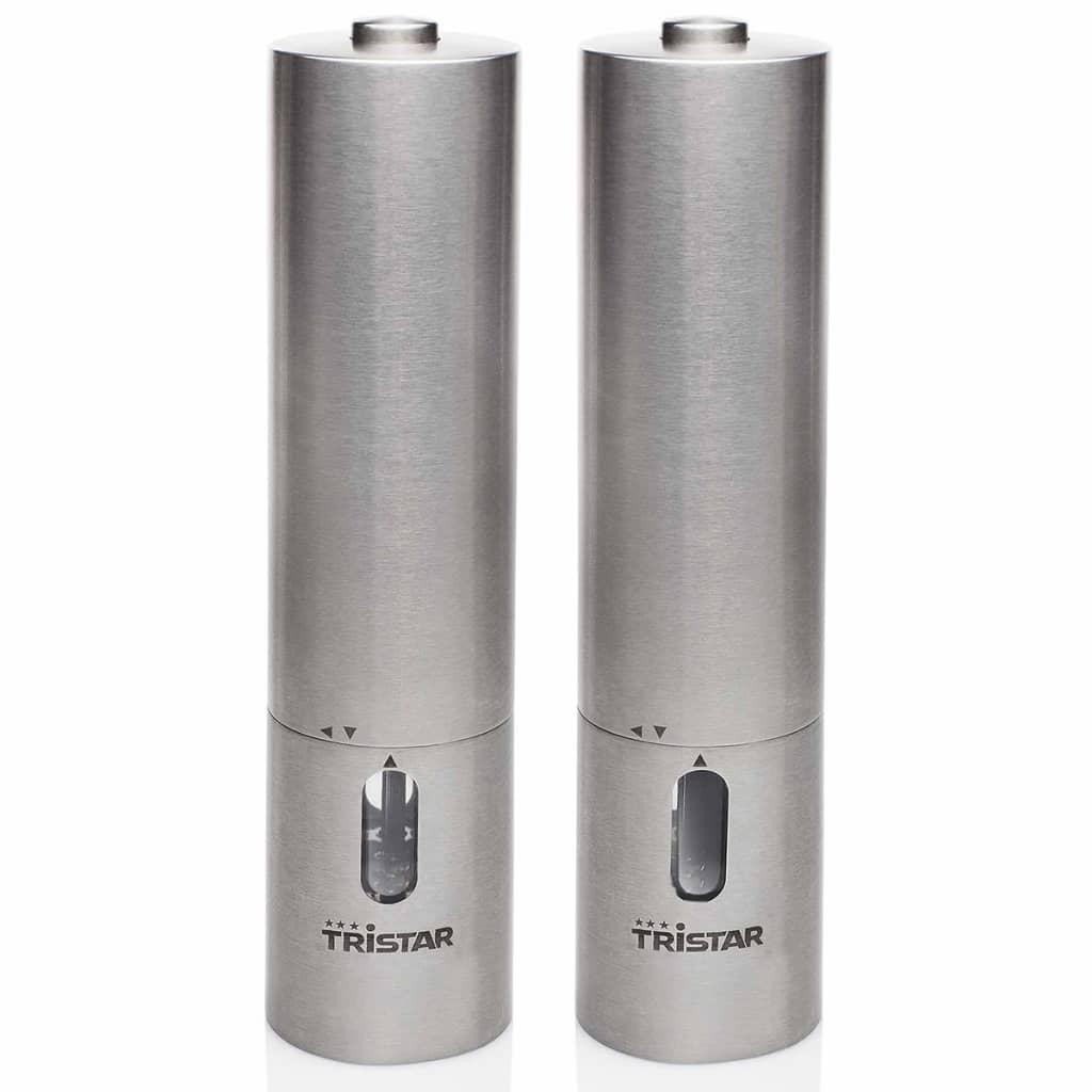 Afbeelding van Tristar Peper-/zoutmolen set PM-4005 zilver 2 st