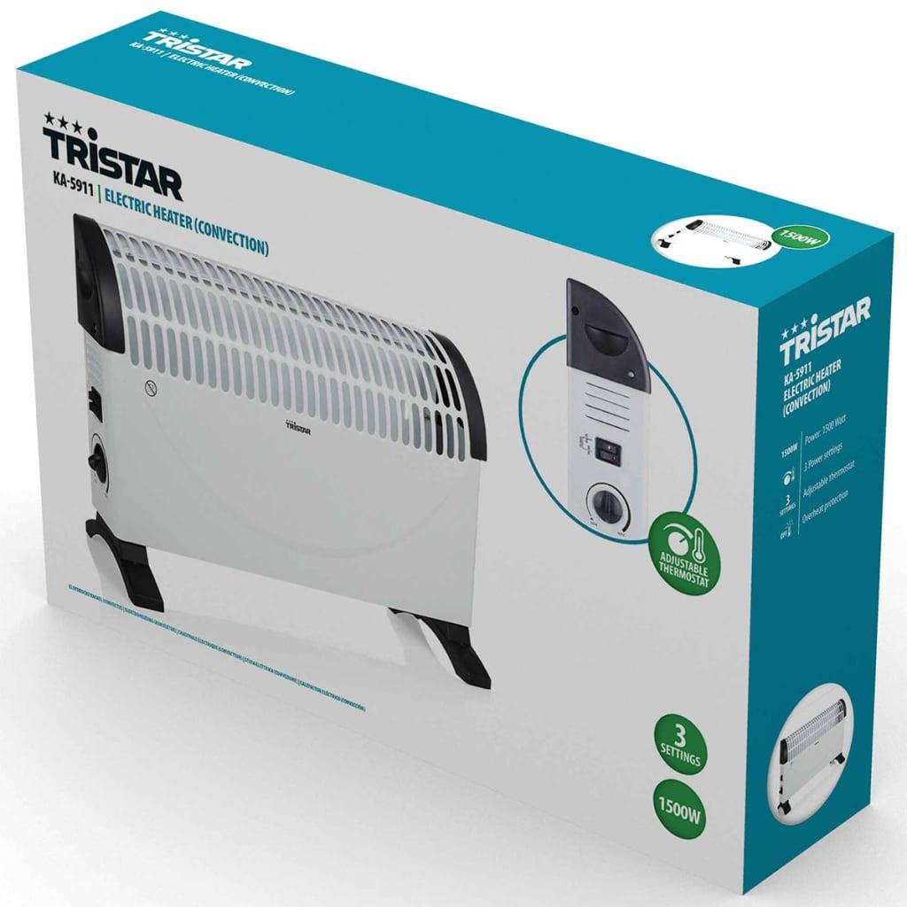 Tristar Convecteur Electrique 1500 W Chauffage d'Appoint Chambres à Coucher 10