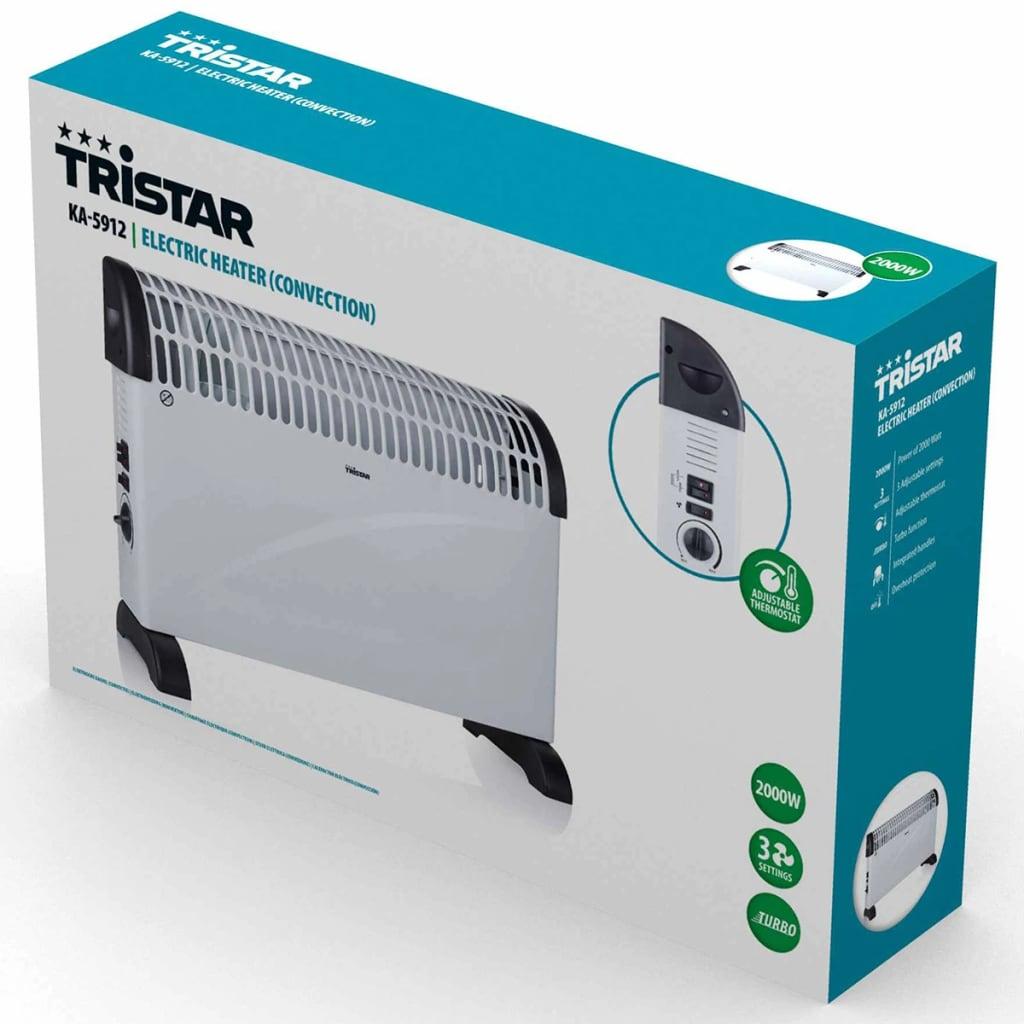 Tristar Convecteur Electrique KA-5912 2000 W Radiateur de Chambre Bureau 10