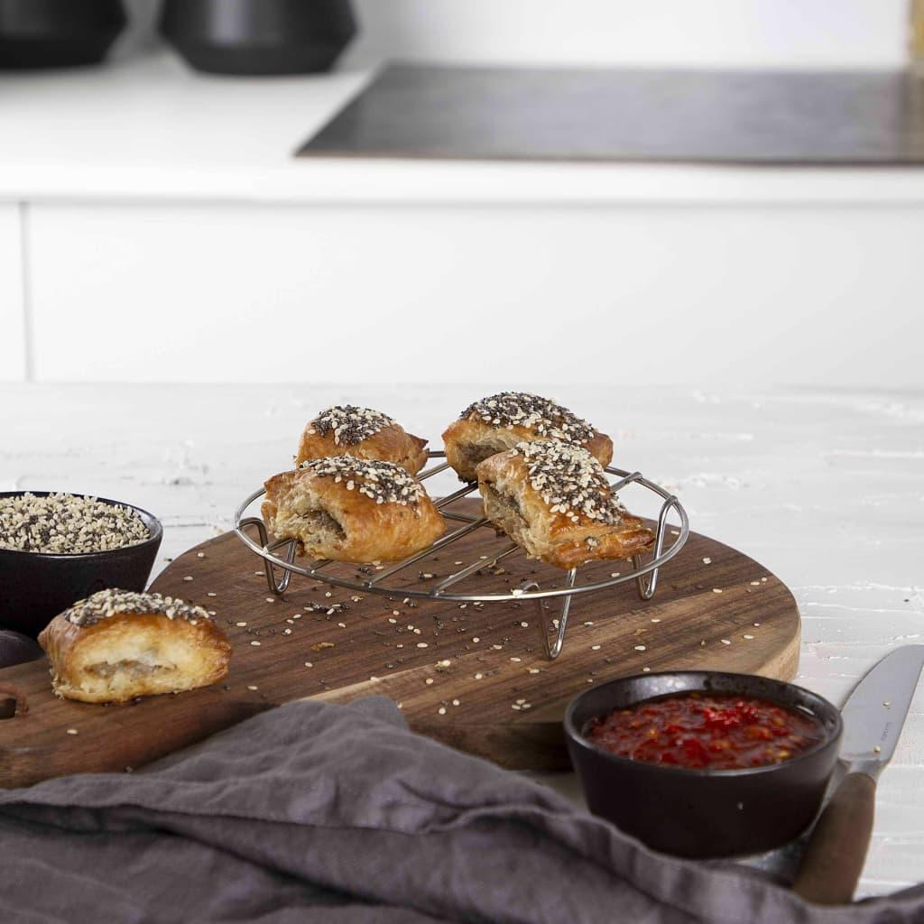 Princess Set d'Accessoires de Friteuse 10 pcs 3,2 L Métal et Silicone Cuisine 7