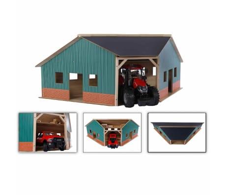 Kids Globe Cobertizo de granja de esquina 1:16 madera 610339[1/2]