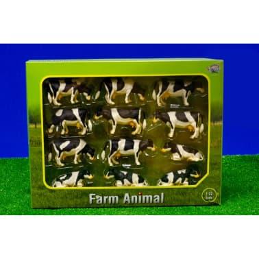 Kids Globe Conjunto de vacas 12 unidades 1:32 571929[2/2]