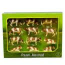 Kids Globe Vacas de juguete 12 unidades 1:32 plástico 571968