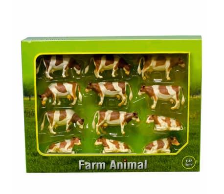 Kids Globe Vacas de juguete 12 unidades 1:32 plástico 571968[2/2]