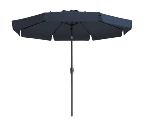acheter madison parasol syros 350 cm bleu pac6p021 pas cher. Black Bedroom Furniture Sets. Home Design Ideas