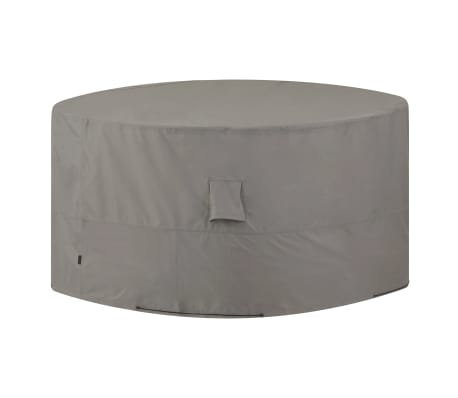 Madison Lauko baldų uždangalas, pilkos sp., apvalus, 320cm[1/14]