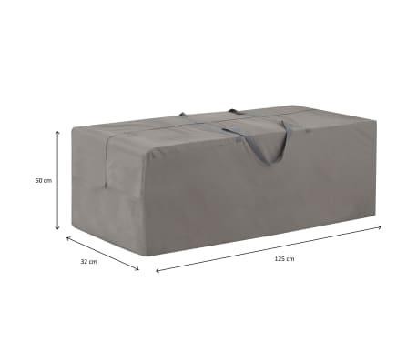 Madison Gartenauflagen Abdeckung 125 X 32 X 50 Cm Grau