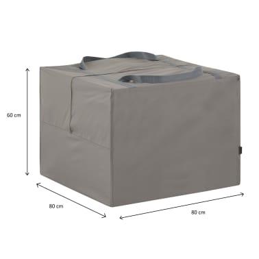 Madison Hoes voor tuinkussens 80x80x60 cm grijs[13/13]
