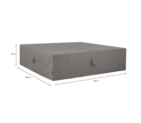 Madison Housse de meubles d'extérieur 205 x 100 x 70 cm Gris[15/15]