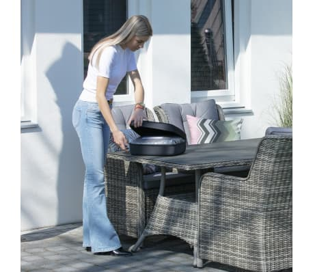 Madison Housse de meubles d'extérieur 205 x 100 x 70 cm Gris[3/15]