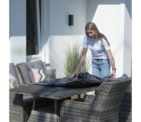 Madison Housse de meubles d'extérieur 205 x 100 x 70 cm Gris[4/15]