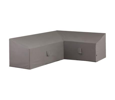 Madison Husă set mobilier de exterior, gri, 270x210x90 cm, dreapta