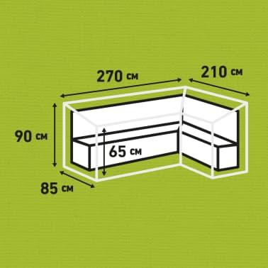 Madison Lauko baldų uždangalas, pilk. sp., 270x210x90cm, deš. pus.[12/12]