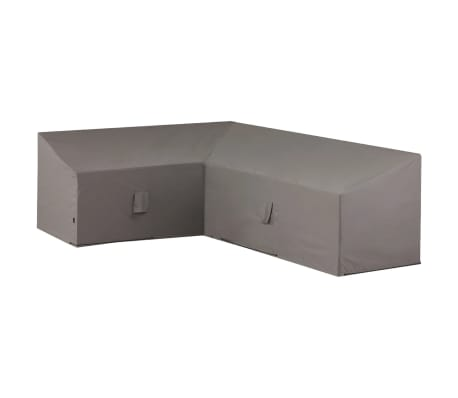 Madison Husă set mobilier relaxare exterior, gri, 270 x 210 x 90 cm, stânga[1/12]