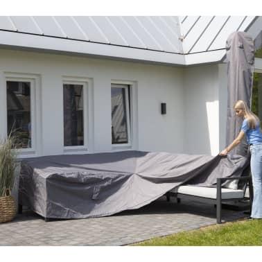 Madison Husă set mobilier relaxare exterior, gri, 270 x 210 x 90 cm, stânga[2/12]