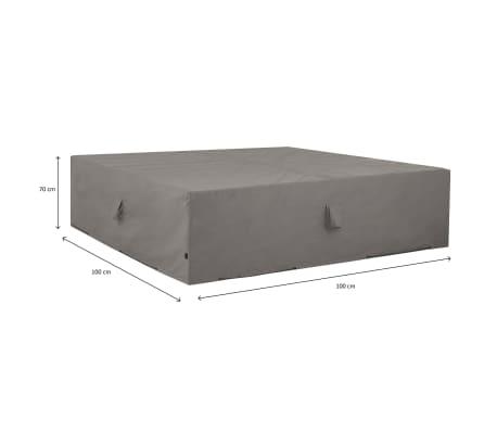 Madison Husă mobilier de exterior, gri, 100 x 100 x 70 cm[15/15]