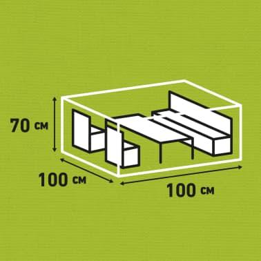 Madison Husă mobilier de exterior, gri, 100 x 100 x 70 cm[14/15]
