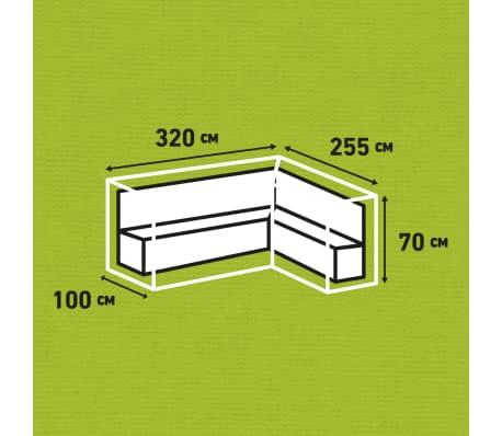 Madison Lauko baldų uždangalas, pilk. sp., 320x255x70cm, deš. pus.[13/13]