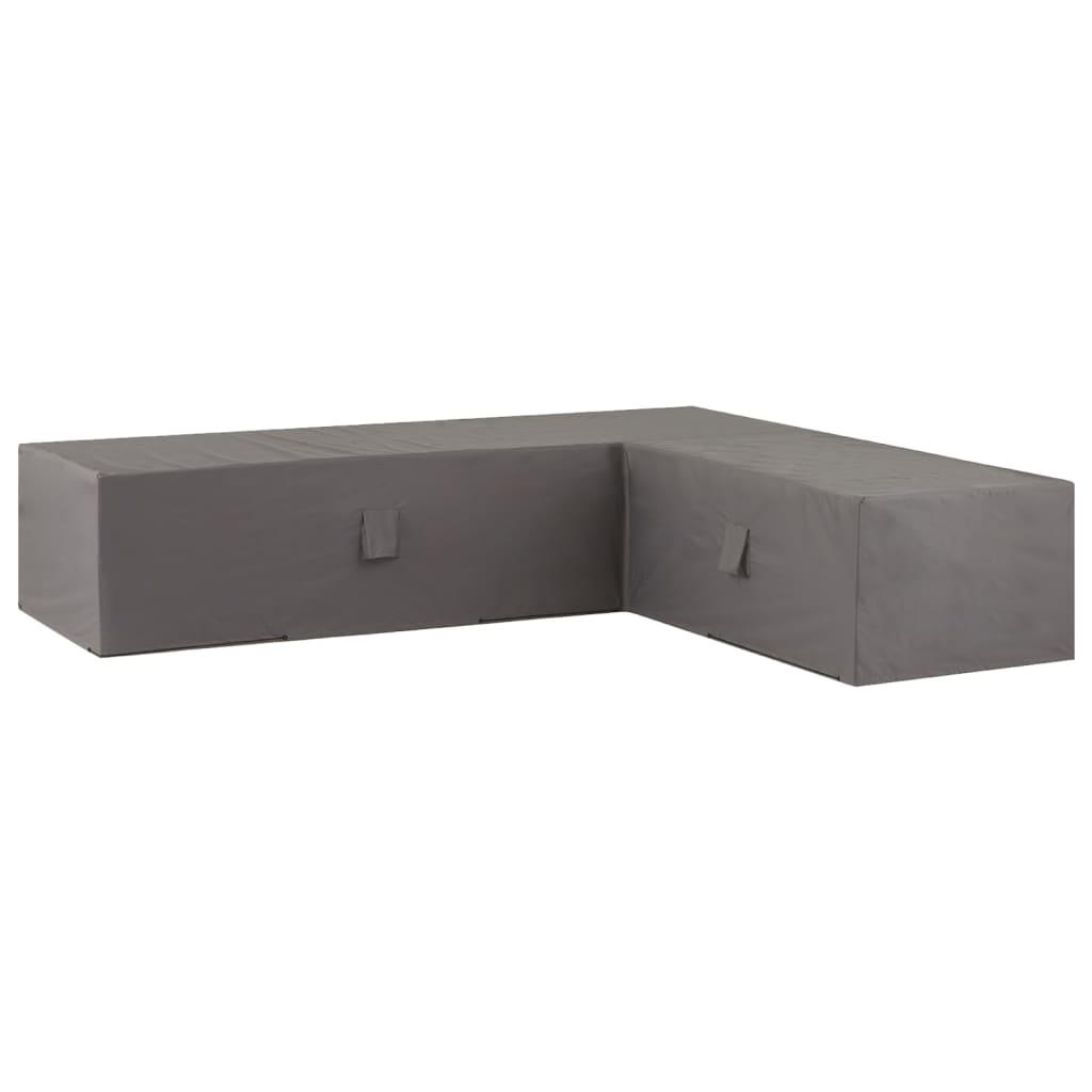 Madison Plachta na zahradní sedací soupravu 320x255x70 cm levá šedá