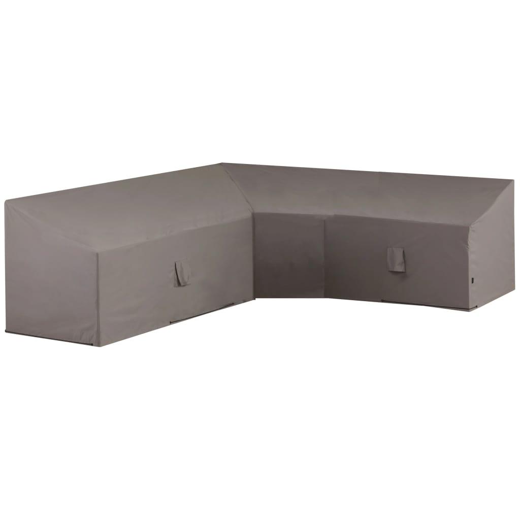 Madison Husă mobilier de relaxare în formă de L, gri, 270x270x65/90 cm poza 2021 Madison
