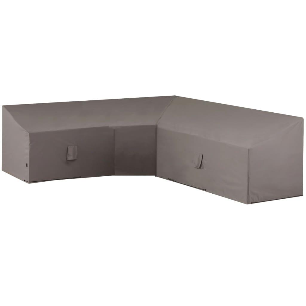 Madison Husă mobilier de relaxare în formă de L, gri, 300x300x90 cm poza 2021 Madison