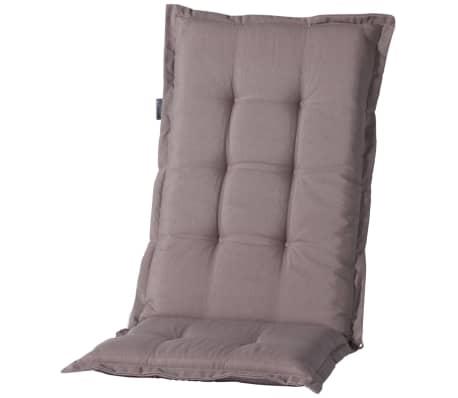 acheter madison coussin de chaise dossier bas panama 105x50cm taupe monlb222 pas cher. Black Bedroom Furniture Sets. Home Design Ideas