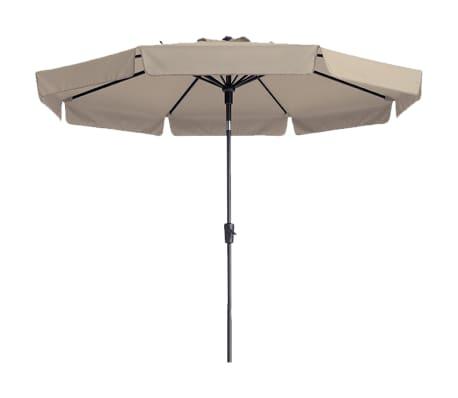 Madison Parasol ogrodowy, Flores, 300 cm, okrągły, ecru, PAC2P016