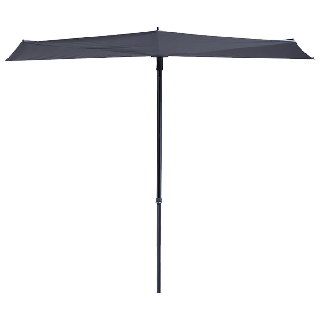 Madison parasol-windscherm Sun Wave grijs