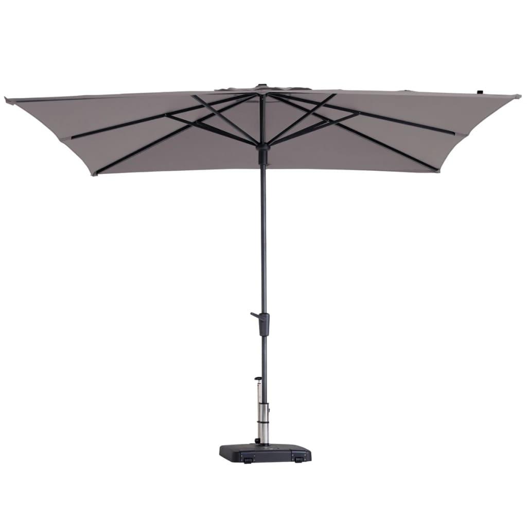 Madison Umbrelă de soare Syros Luxe, 280x280 cm, gri taupe, PAC7P015 vidaxl.ro