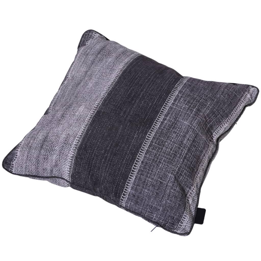 Madison Dekokissen Denim Stripe 50 x 50 cm Grau PI16F364