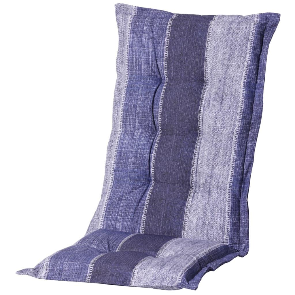 Madison Pernă scaun spătar mic Denim Stripe albastru 105x50cm MONLF365 poza 2021 Madison