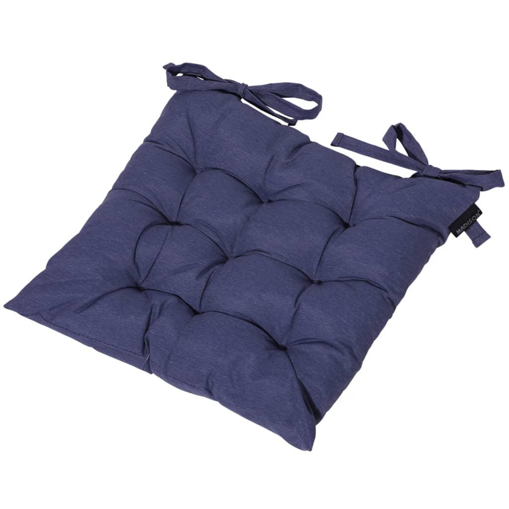 Madison Pernă scaun exterior Panama, 46x46 cm, albastru safir TOSCB231 vidaxl.ro