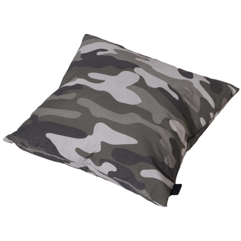Madison Kissen Camouflage 50 x 50 cm Grün-Grau PIL7F368