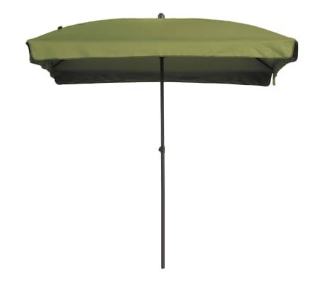 Madison Parasol Patmos rechthoekig 210x140 cm saliegroen