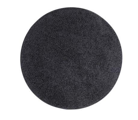 teppich batan 67 cm rund schwarz g nstig kaufen. Black Bedroom Furniture Sets. Home Design Ideas