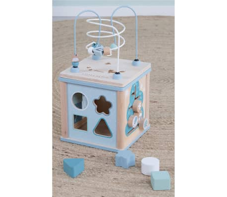 Little Dutch Cube d'activités Bois Bleu LD4428[2/19]