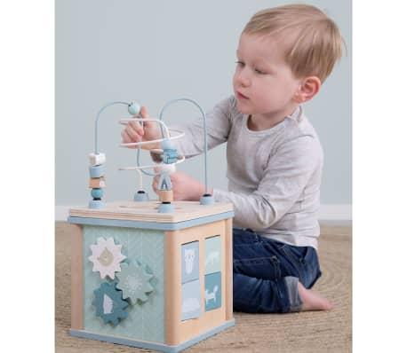 Little Dutch Cube d'activités Bois Bleu LD4428[10/19]