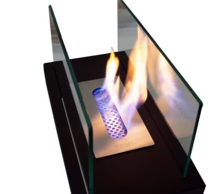 Qlima Cheminée à l'éthanol 36 x 19 x 21 cm FFB 105[8/9]