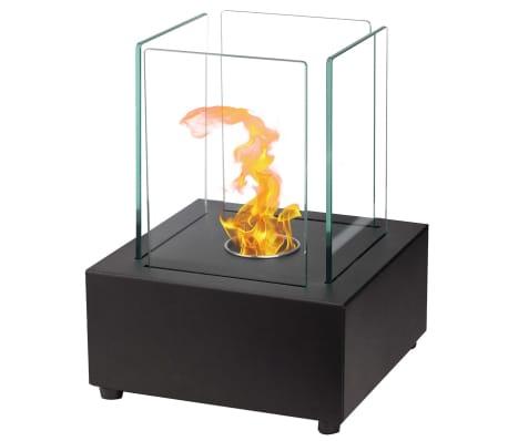 Qlima Brûleur à l'éthanol carré 22 x 22 x 30 cm FFB 022[1/3]