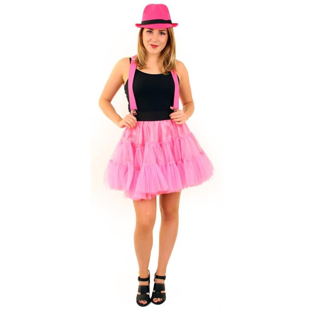 Partyxplosion Petticoat rosa dreischichtige Damen
