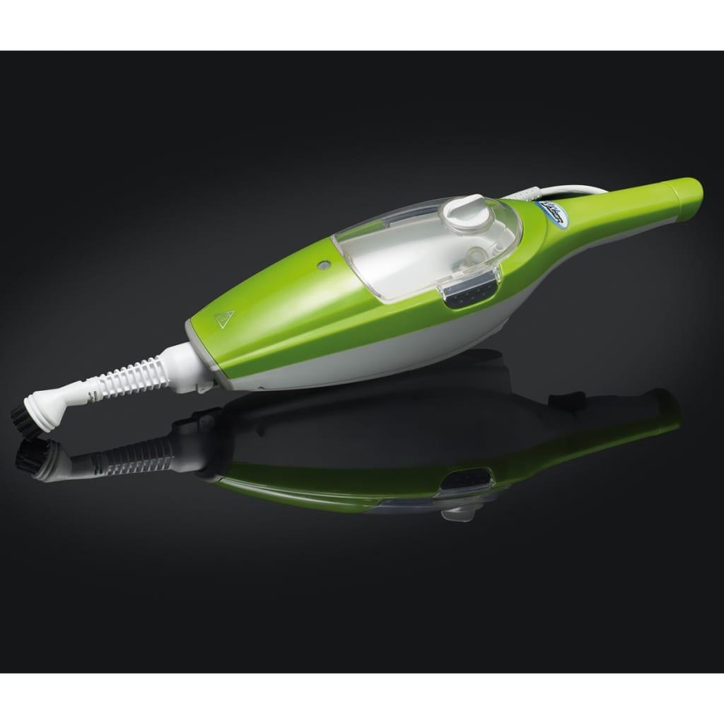 Aqua Laser Nettoyeur à vapeur Balai à vapeur électrique 1500 W 410 ml Vert 4
