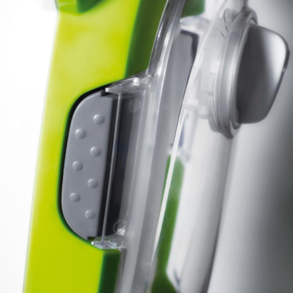 Aqua Laser Nettoyeur à vapeur Balai à vapeur électrique 1500 W 410 ml Vert 5
