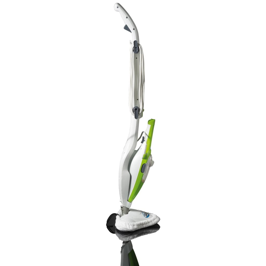 Aqua Laser Nettoyeur à vapeur Balai à vapeur électrique 1500 W 410 ml Vert 7
