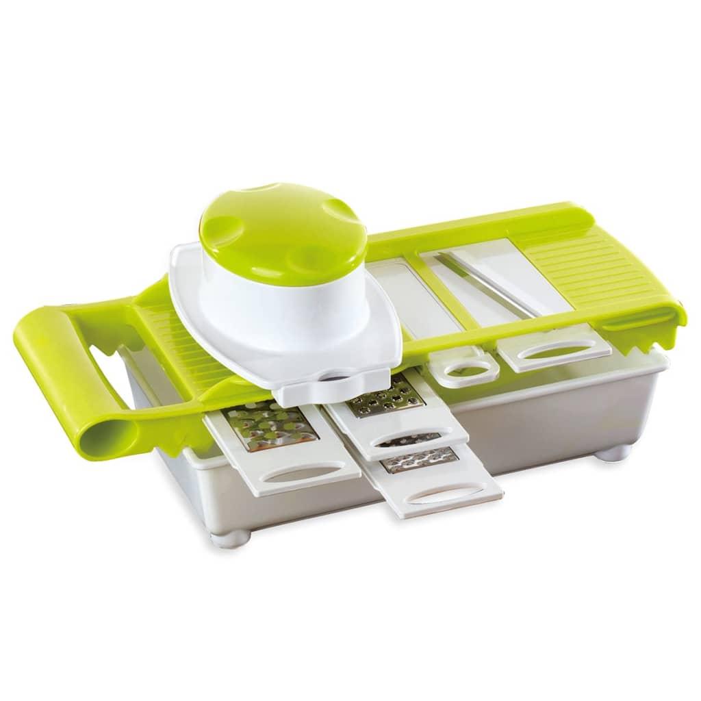 Afbeelding van Enrico 5-in-1 Mandoline rasp groen