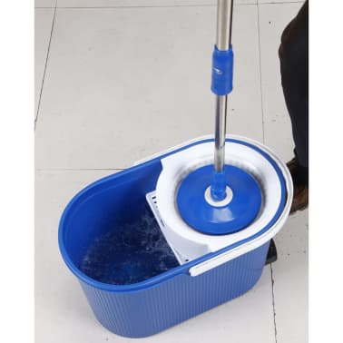 Aqua Laser Fregona giratoria Platinum azul[3/8]
