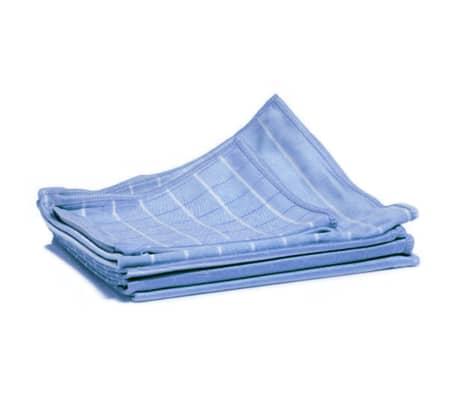 Aqua Laser Trapos para limpiar el polvo 6 unidades fibra de bambú azul[1/2]