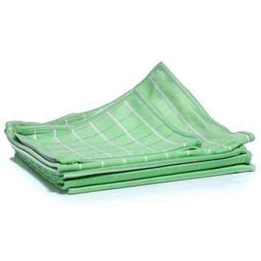 Aqua Laser Trapos de limpiar el polvo 6 unidades fibra de bambú verde[1/2]
